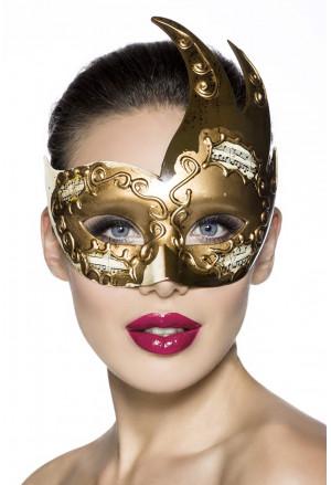 Veľmi krásna maska zdobená notami
