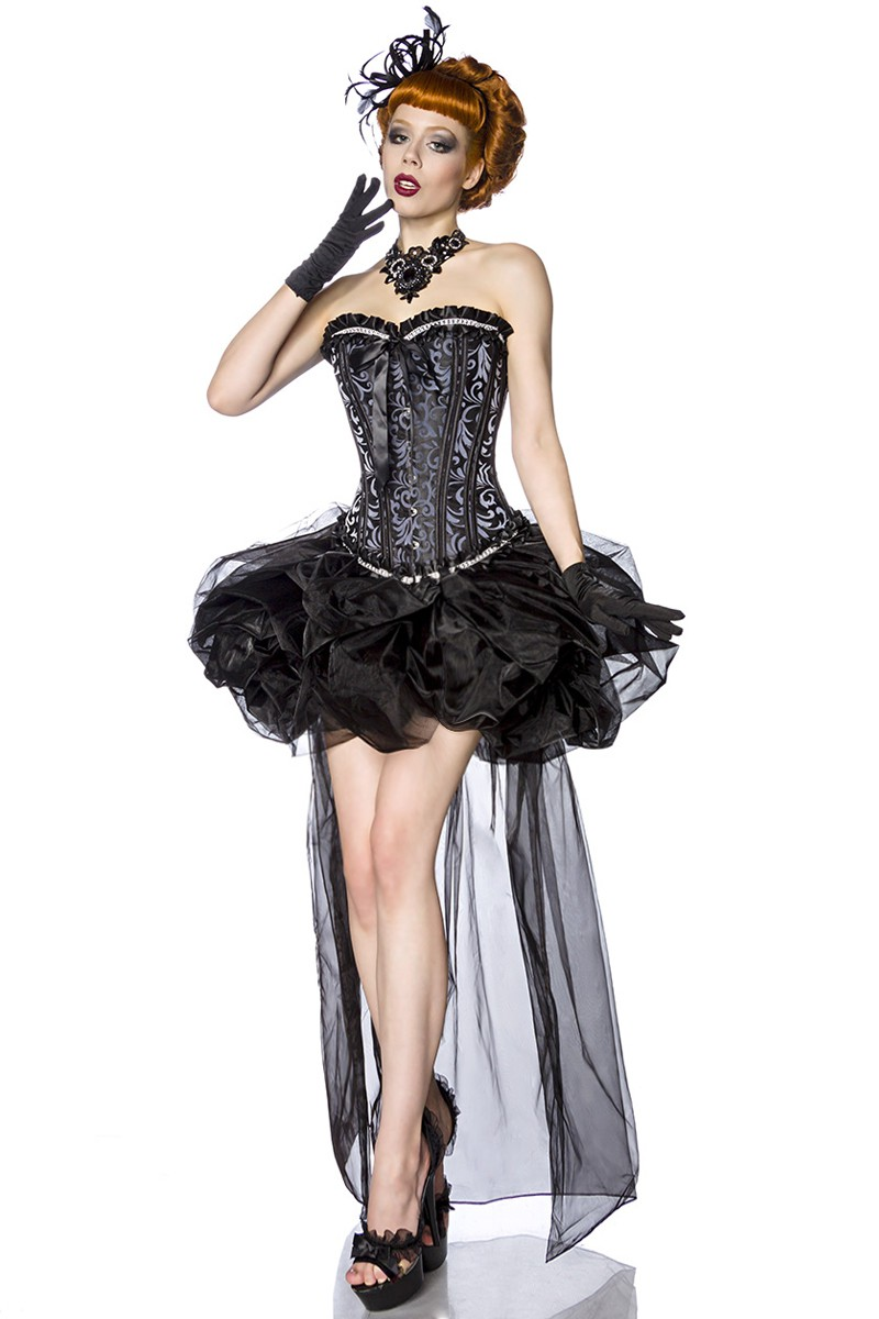 83e81898c07b Čierna balónová sukňa z tylu - SELECTAFASHION.COM
