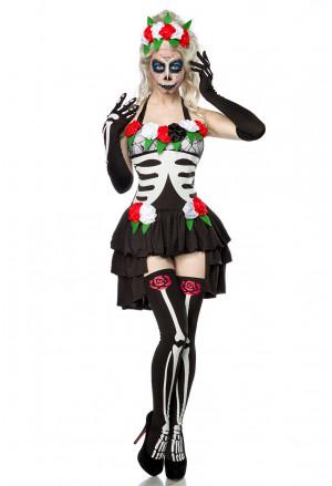 Complete Skeleton costume Mexican Día de Muertos