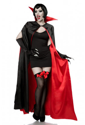 High quality theater vampire costume DRACULA VAMP
