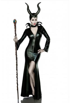 Halloween glitzy costume MRS EVIL
