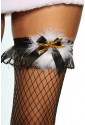 Womens Christmas motiv stockings red