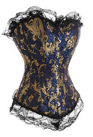 Unique brocade corset CLARA