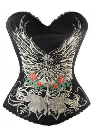 Tattoo print corset Made South