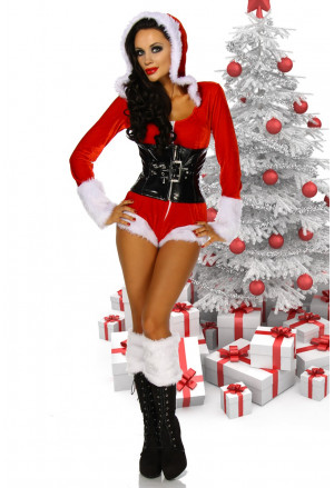 Exclusive overal Santa Girl