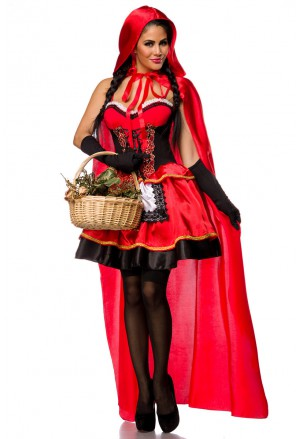 Fairy tale Little Red Riding Hood costume