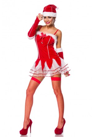 Sexy red Christmas set