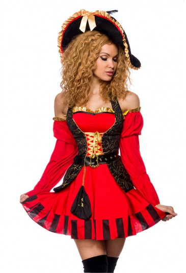 Quality pirate costume