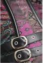 Oceľový steampunk korzet Color Exklusive
