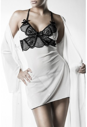 Set of Night chemise and robe for Snow Princess