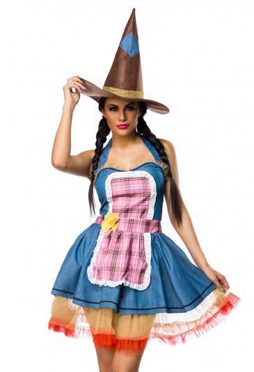 Ladies carnival costume mask Scarecrow