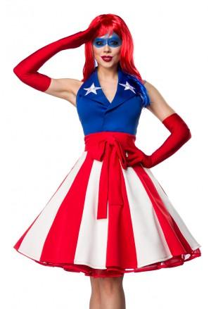 Glamorous masquerade costume Miss America