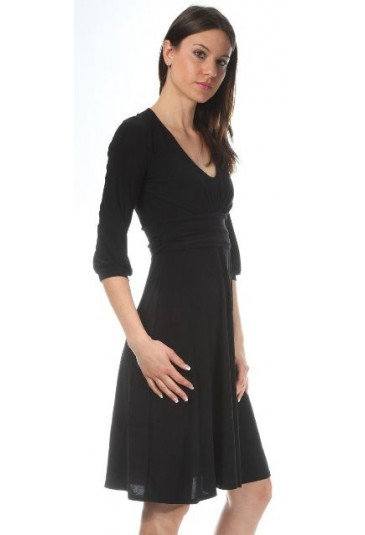 Ladies long sleeve purple dress NIFE