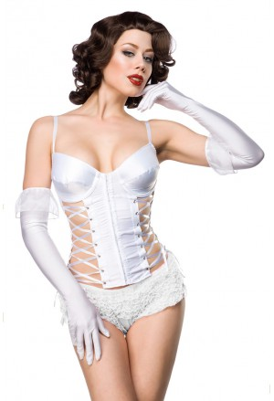 Perfect corset with bindings