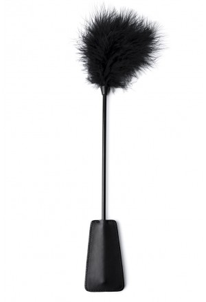 Erotic swatter with feathers