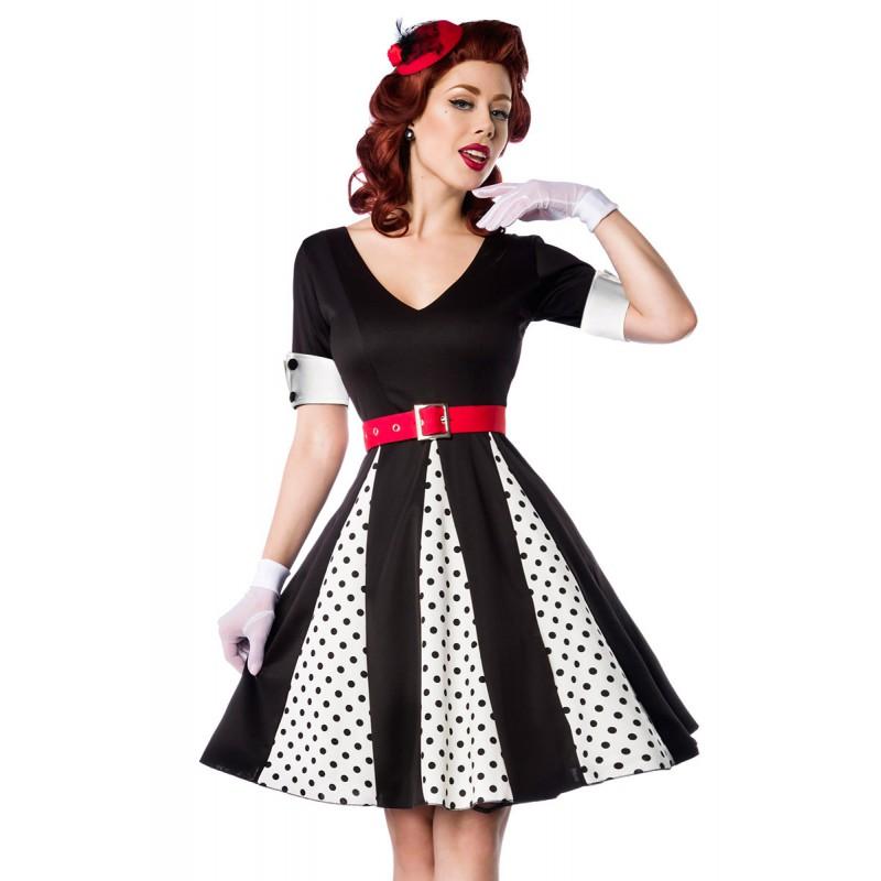 Originálne retro šaty s bodkami - SELECTAFASHION.COM 9a6feaf461