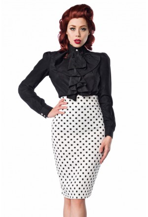 Pencil rockabilly skirt
