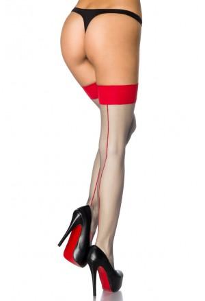 Sexy Bielo-červené Samodržky V Kubánskom Štýle
