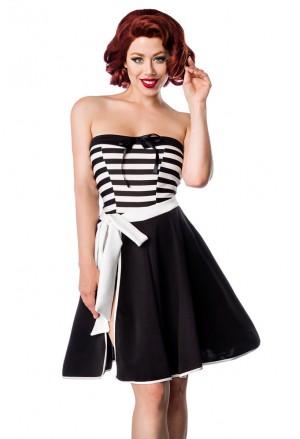 Sladká zavinovacia retro sukňa