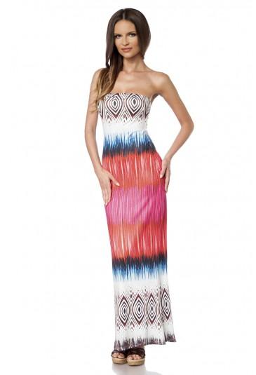 b8610a54490d Elegantné letné dlhé šaty - SELECTAFASHION.COM