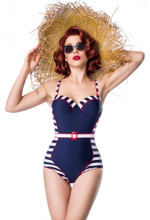 Quality retro look swimsuit by Ophelia Overdose