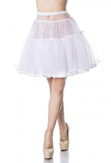 Knee lentght white underskirt Belsira