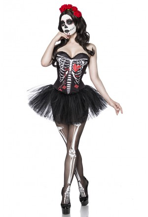Halloween women costume Mexican Senorita