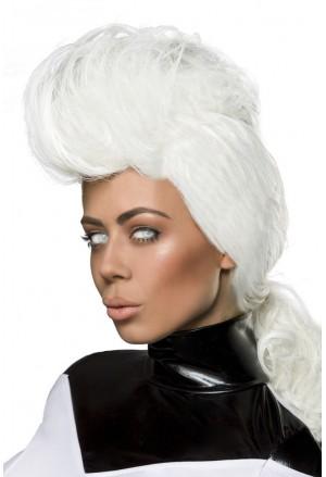 Space long wig for Storm X men Heroine
