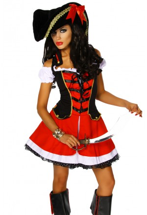 Sexi pirate women costume