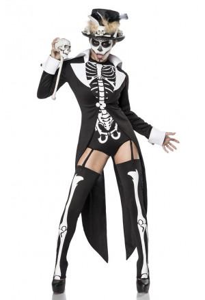 Luxury womens 7 pieces costume Voodoo