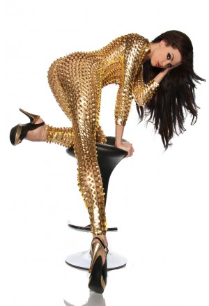 Metallic dance overal Afro Women