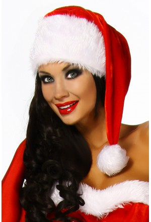 Vianočná čiapka ku kostýmom