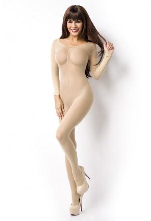 Women's nude bodystockings lingerie