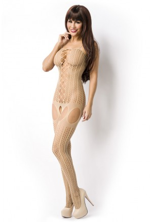 Seductive nude bodystockings cut outs