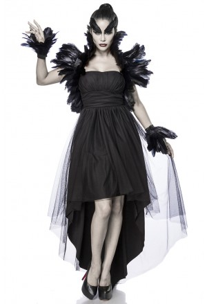 Divadelný kostým Čierna vrania kráľovná