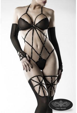 Stunning seductive body Grey Velvet