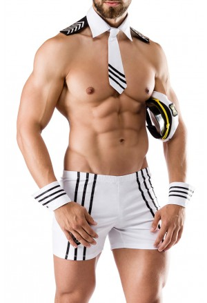 Seductive men roleplay costume football capitan