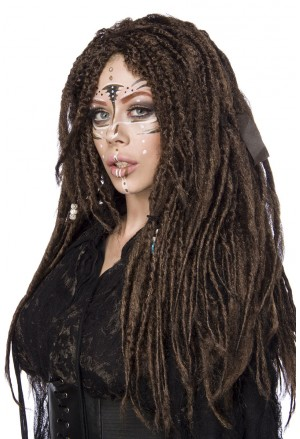 Top quality dreadlocks voodoo hair wig