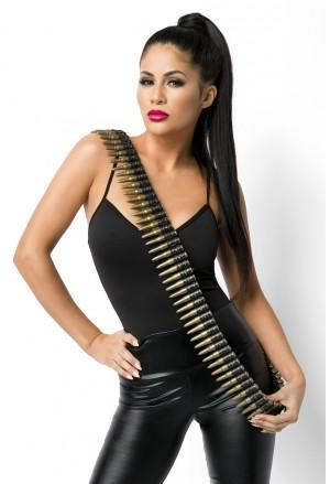 Military cool ammunition belt