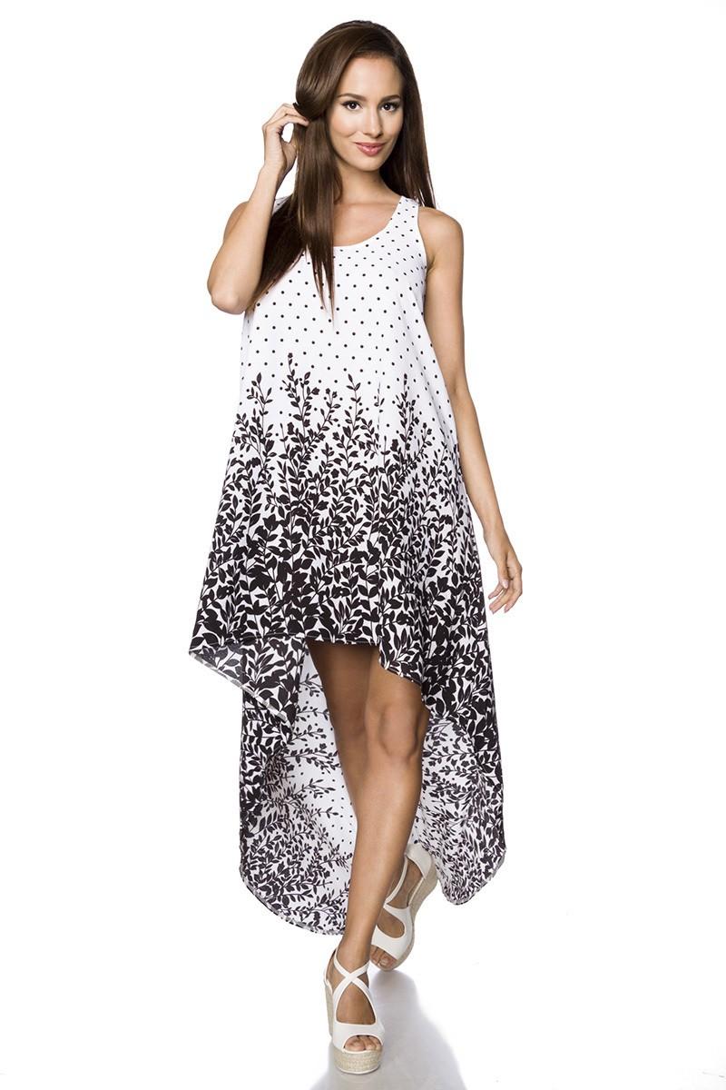 8b6d93ee43f1 Bohémske voľnočasové asymetrické šaty - SELECTAFASHION.COM