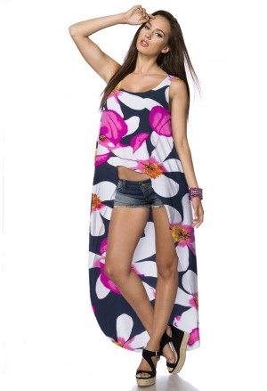 Hippies low high tank top dress