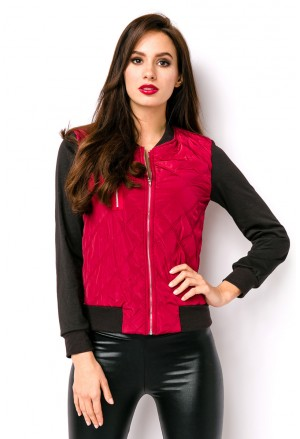 Short quilted women jacket