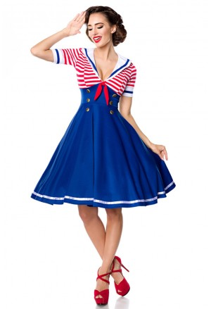 Sladké rockabilly retro šaty Belsira