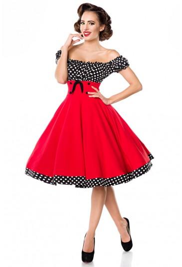 Pôsobivé retro šaty a lá 50. roky