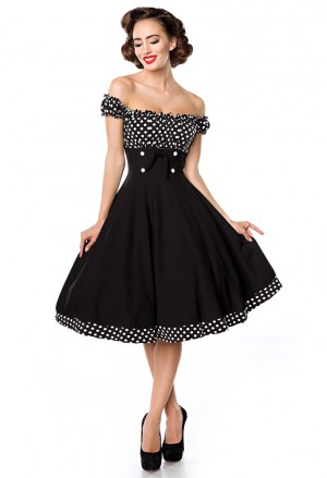 Impressive vintage 50s inspired dress
