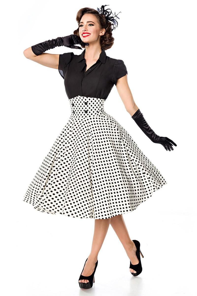 47522fe1d299 Elegantná spoločenská retro sukňa Belsira - SELECTAFASHION.COM