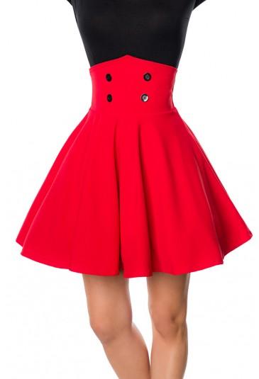 Extra wide A line elegant retro skirt Belsira