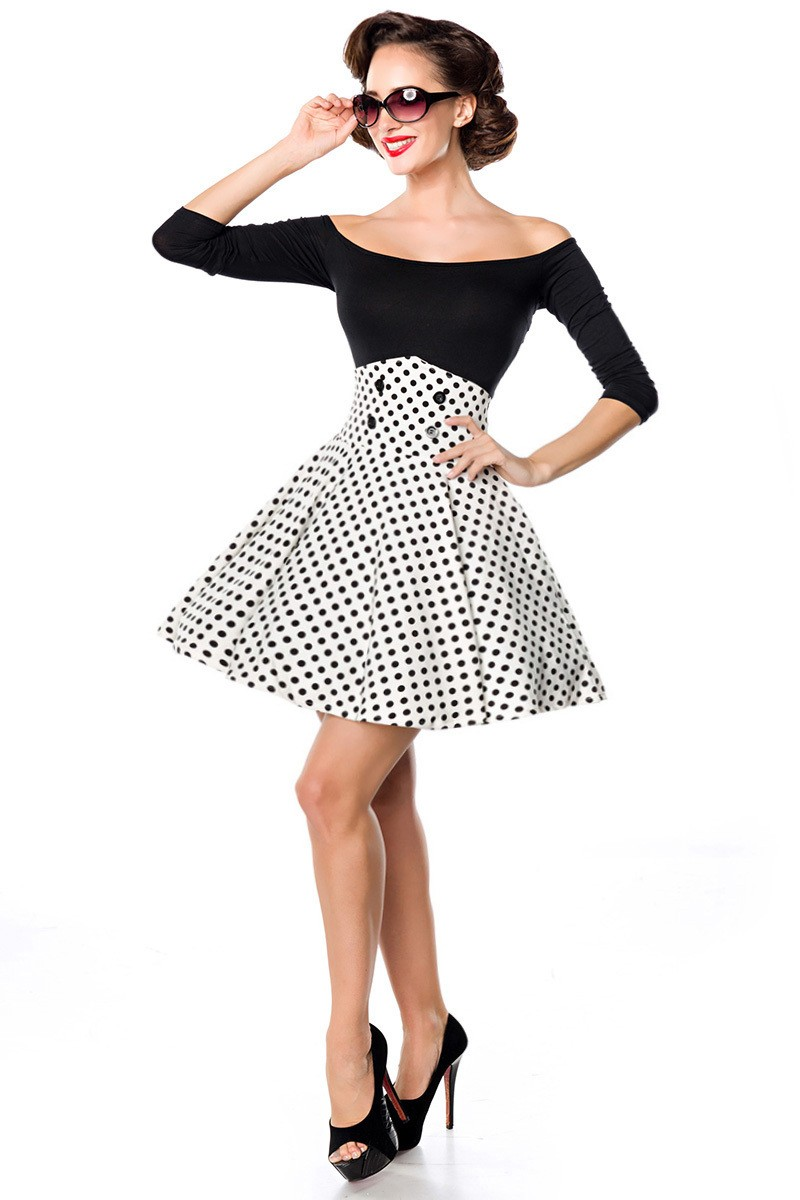 998473bd4900 Krátka swingová sukňa s vysokým pásom - SELECTAFASHION.COM
