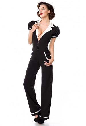 Elegant vintage retro jumpsuit Belsira