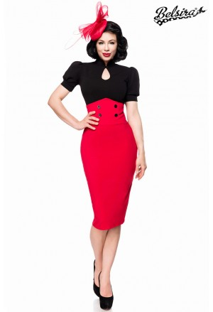 Ultra slim high waisted vintage skirt